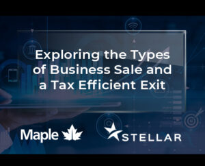 Exploring the Types of Business Sale and a Tax Efficient Exit